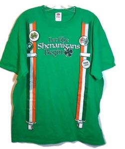 Fruit of the Looms St. Patrick's Day T- Shirt